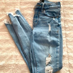 Women's Express Distressed Jeans